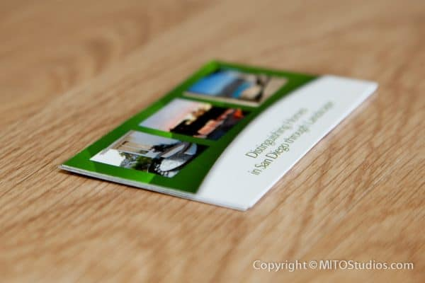 Business Cards for Happy Roots Landscape, Back