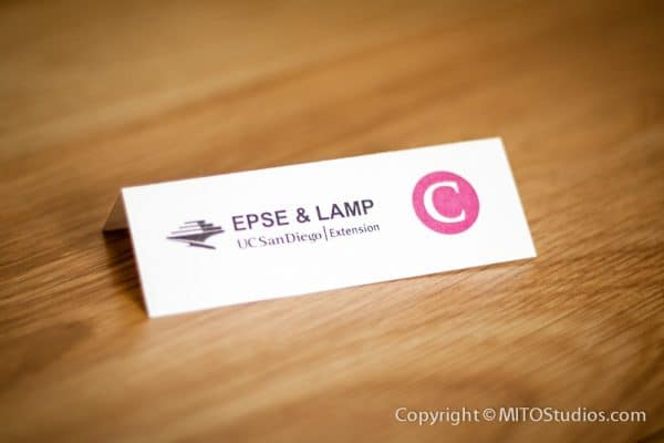 Invitations & Announcements for EPSE Corporate Event, Place Card
