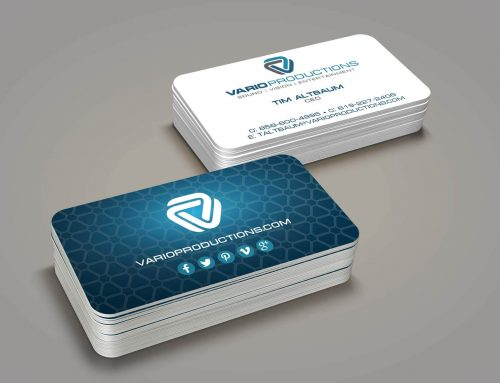 Design print business cards for coin mart jewelry custom business cards design print for vario productions reheart Choice Image
