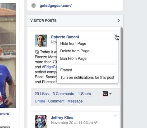 How To Share Facebook Visitor Posts to Your Page's Wall / Feed
